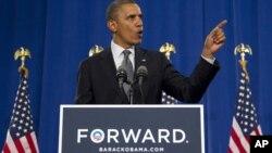 Barack Obama admitió en su discurso que la economía no está en buen estado, pero pidió paciencia.