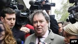 Ông Mark Stephens, luật sư của Julian Assange, người sáng lập trang web WikiLeaks