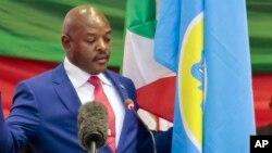 Burundi President Sworn In