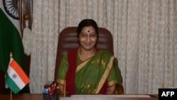 Bộ trưởng Ngoại giao Ấn Độ Sushma Swaraj.