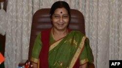 印度外长斯瓦拉吉