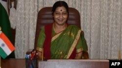 Menteri Luar Negeri India, Sushma Swaraj (foto: dok).