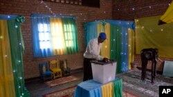 En images : l'élection présidentielle au Rwanda