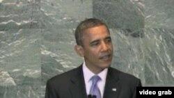 美国总统奥巴马(美国之音视频截图)