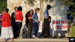 德州已經開始提前投票