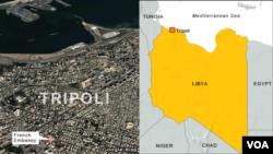 French Embassy, Tripoli, Libya