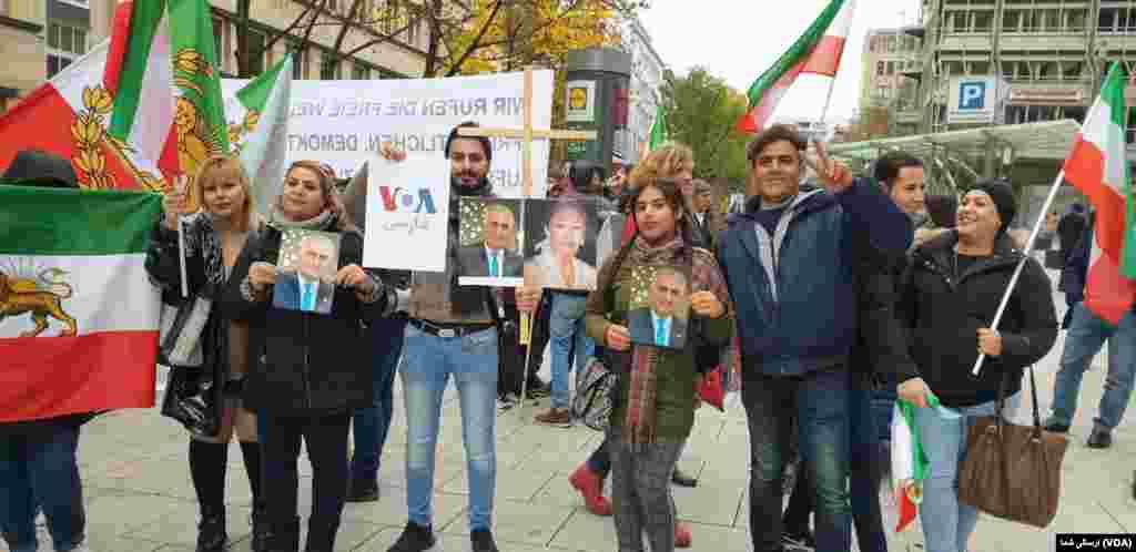 تجمع ایرانیان در اشتوتگارت آلمان - شنبه ۲۳ نوامبر