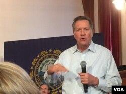 Trong kết quả bất ngờ, Thống đốc John Kasich của bang Ohio về nhì tại New Hampshire.