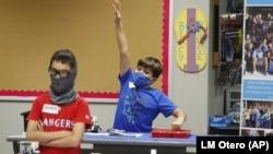 Deca u školi u Teksasu (Foto: AP/ LM Otero)
