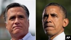 Tổng thống Hoa Kỳ Barack Obama và ứng cử viên tổng thống của đảng Cộng hòa Mitt Romney