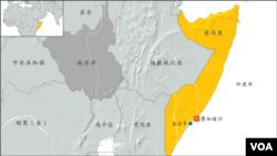索馬里地圖