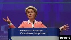 Presidentja e Komisionit Evropian, Ursula von der Leyen