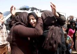 Yazidiylar huquqini himoya qilayotgan ayol, Behzod Muhammadiy