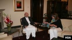 بیتی دام با رئیس جمهور پیشین برای نوشتن کتاب سه بار مصاحبه نموده است