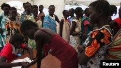 Para perempuan Sudan Selatan yang harus mengungsi akibat kekerasan (foto: dok).