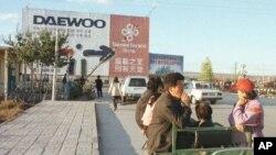 Di Yanji, kota China di perbatasan dengan Korea Utara, hubungan bisnis antara China dan Korea Utara tidak terganggu oleh peningkatan ketegangan di Semenanjung Korea (foto: dok).