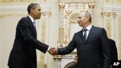 Барак Обама и Владимир Путин