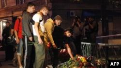 Место убийства Юрия Буданова