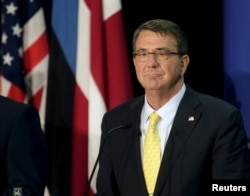 FILE - U.S. Secretary of Defense Ash Carter