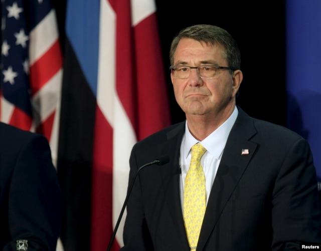 FILE - U.S. Secretary of Defense Ash Carter