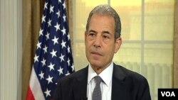 Thứ trưởng Ngoại giao Mỹ phụ trách về quan hệ công chúng Richard Stengel.