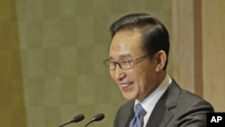 South Korean President President Lee Myung-bak (File).