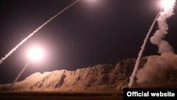 تصاویر حمله موشکی سپاه به سوریه