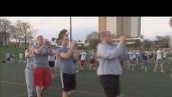 OMG 美语:白洁带你体验美国大学行进乐队!