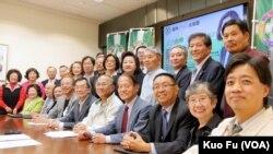 南加台湾人社团总动员(美国之音国符拍摄)