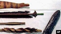 美洲大陆最早居民使用过的弓箭和石器(与德克萨斯出土文物无关)