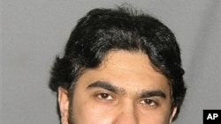 An undated booking mug released by the U.S. Marshal's Service shows Faisal Shahzad