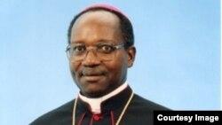 Mgr Gervais Banshimiyubusa, président de la Conférence épiscopale du Burundi