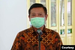 Kadarmanta Baskara Aji, Sekretaris Daerah Istimewa Yogyakarta. (foto: Humas Pemprov DIY)