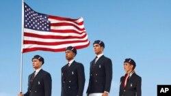 為參加2012年倫敦奧運會的美國奧運選手指定品牌拉爾夫•勞倫的制服﹐被發現由中國製造