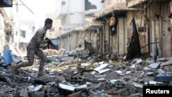 Razoreni sirijski grad Hudžaira