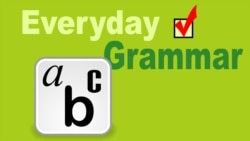 Three Common Forms in Everyday Speech