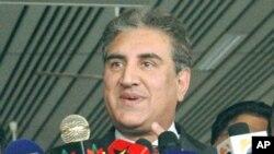 وزیر خارجہ شاہ محمود قریشی