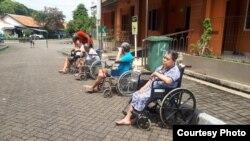 Kegiatan dan kondisi di Balai Lansia Budhi Dharma, Bekasi. (Foto: Kepala Balai Lansia/Pujiyanto)