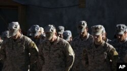 U.S troops stationed in Afghanistan (File)