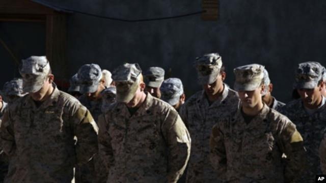 U.S troops stationed in Afghanistan (File)