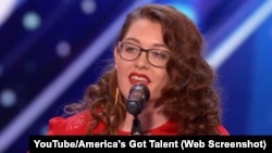 Mandy Harvey is a deaf singer who impressed the judges on America's Got Talent.