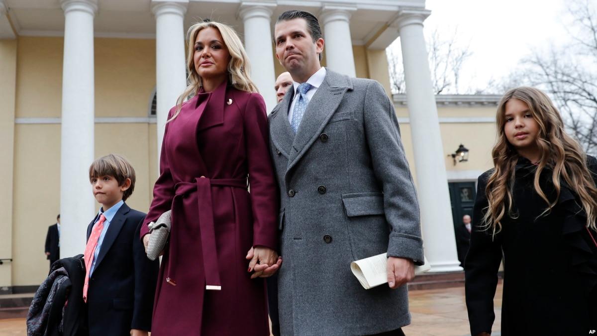 Donald Trump Jr.'s Wife Files for Divorce