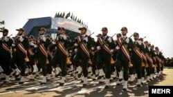 رژه نیروهای سپاه پاسداران انقلاب اسلامی
