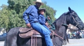 Many parade participants believe they are descended from Black cowboys, who became cattle herders, cooks, ranchers and rodeo riders in the Old West.