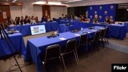 La CIDH llamó a Venezuela a cesar medidas represivas contra los manifestantes.