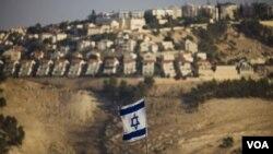 约旦河西岸的一个犹太人定居点(资料照)