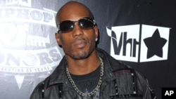 FILE - In this Sept. 23, 2009 photo, DMX arrives at the 2009 VH1 Hip Hop Honors at the Brooklyn Academy of Music, in New York.