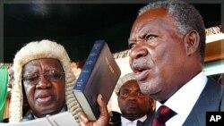 Rais mpya wa Zambia Michael Sata