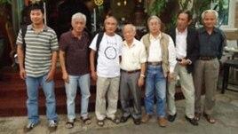 Các thành viên nhóm Văn đoàn Độc lập Việt Nam tại Sài Gòn.