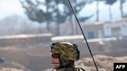 Австралийский солдат на позиции в южной провинции Урузган